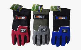 132 Units of Insulated High Dexterity Fleece Gloves - Winter Gloves