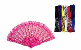 120 Wholesale Floral Folding Hand Fan Flowers Pattern Handheld Fans