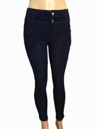48 of Womens Skinny Slim Straight Cropped Jean With Zipper Fly