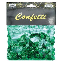 96 Units of Sequins Holiday Green - Streamers & Confetti