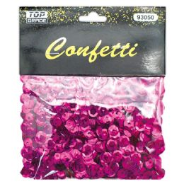 96 Units of Sequins Dark Pink - Streamers & Confetti