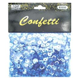 96 Units of Sequins Baby Blue - Streamers & Confetti