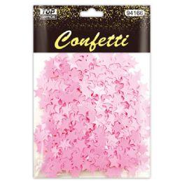 96 Units of Confetti Star Baby Pink - Streamers & Confetti