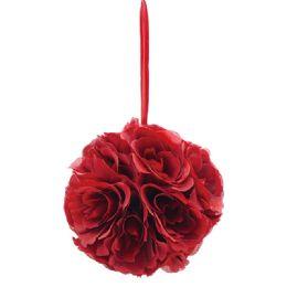 36 Units of Six Inch Silk Flower Burgandy - Wedding & Anniversary