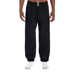 18 Units of Adult Unisex Gildan Black Adult Sweatpants - Womens Pants