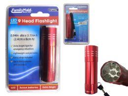 96 Bulk 9 Led Flashlight