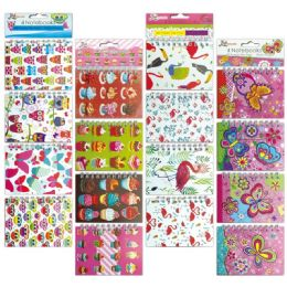 96 Units of Mini Notebook Unicorn Assorted - Memo Holders and Magnets