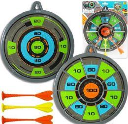 12 Bulk 2-IN-1 Magnetic Dart Board Sets