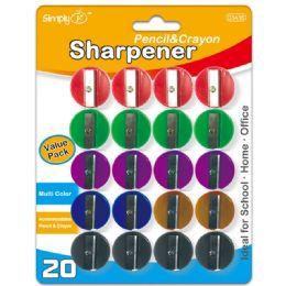 96 Bulk 15 Piece Pencil Sharpener