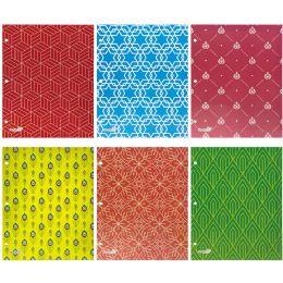 144 Units of Two Pocket Paper Folder Assorted - Folders & Portfolios