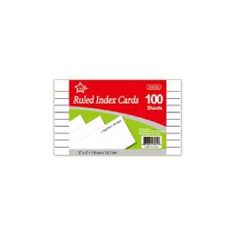 96 Wholesale Index Card Hundred Count