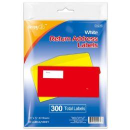 96 Units of Return Address Labels - Reinforcement Stickers & Labels