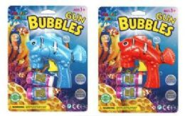 36 Bulk Fish Gun Bubbles With 2 Refill