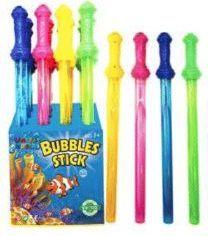 48 Units of 24 Inch Colorful Bubbles Sticks - Bubbles