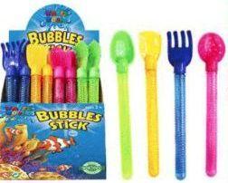 48 Bulk 13.5 Inch Colorful Bubbles Sticks