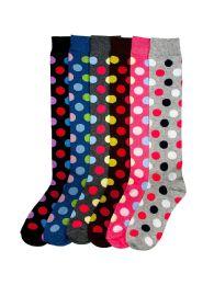 120 Units of Mamia Women's Knee High Socks - Womens Over the knee sock
