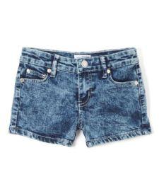 12 Units of Girls' Denim Shorts Size 4-6x - Girls Apparel