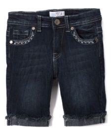 12 Units of Girls' Bermuda Shorts. Size 7-14 - Girls Apparel