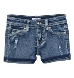 12 Units of Girls' Denim Shorts. Size 4-6x - Girls Apparel