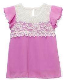 6 of Girls' Top In 2 Asst ColorS- Size 7-14