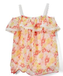 6 of Girls' Coral Tank Top, Size 4-6x