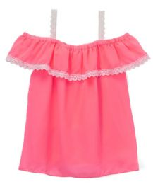 6 of Girls' Off The Shoulder Summer Top, Size 4-6x