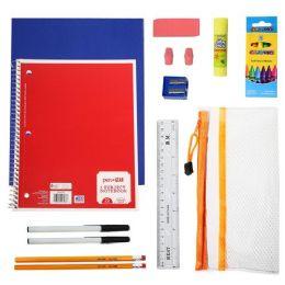 24 Bulk 18 Piece Wholesale Kids School Supply Kits