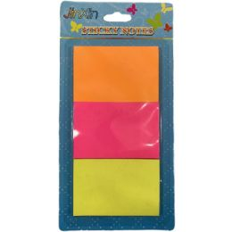 36 of Three Pack Sticky Notes Neon