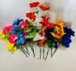 36 Units of 7 Head Flower - Artificial Flowers