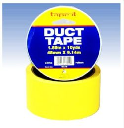 """54 Wholesale Yellow Duct Tape 1.89"""" X 10 Yds"""