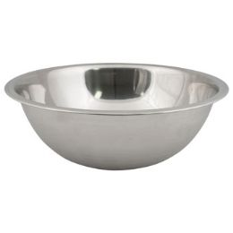 48 Units of Stainless Steel Mixing Bowl Matte Finish - Stainless Steel Cookware