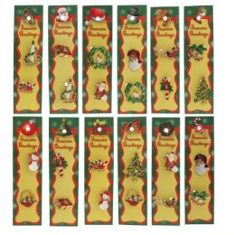 96 Wholesale Christmas Pins