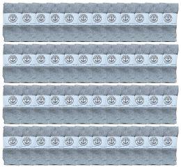 48 Units of Yacht & Smith Kids Gray Solid Tube Socks Size 4-6 - Boys Crew Sock