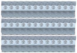 36 Units of Yacht & Smith Kids Gray Solid Tube Socks Size 4-6 - Boys Crew Sock
