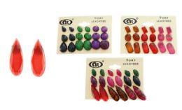 288 Units of Multiple Color Post Earrings - Earrings