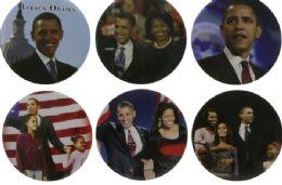 144 Wholesale Obama Pins