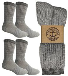 Yacht & Smith Womens Terry Lined Merino Wool Thermal Boot Socks