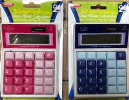 60 Wholesale Blister Pack 8 Digit Calculator Solar And Battery Operated