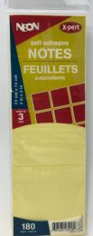 50 Units of 3 Pack Yellow 3x3 Sticky Notes, Post Notes - Adhesive note