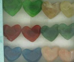 36 Wholesale Heart Shaped Acrylic On Black Acrylic Band Assorted Colors