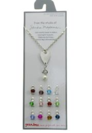 36 Wholesale Silver Tone Necklace With A Heart Charm