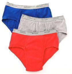 72 Units of Men's Fruit Of The Loom Briefs, Size L - Mens Underwear