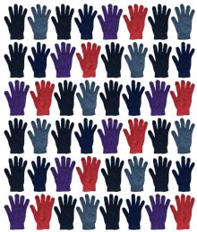 48 Units of Yacht & Smith Womens, Warm And Stretchy Winter Gloves - Knitted Stretch Gloves