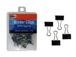 96 Wholesale 15 Piece Binder Clips