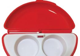 12 Units of 2 In 1 Microwave Omelette Maker And Egg Poacher - Microwave Items