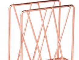12 Units of Rose Gold Napkin Holder - Napkin and Paper Towel Holders
