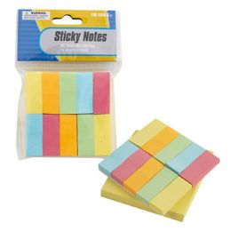 72 of 3x3 Yellow Pad W/color Flags Sticky Notes