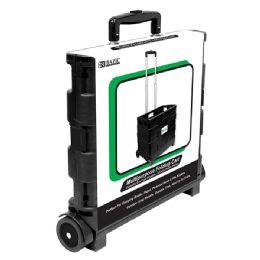 "3 Wholesale Bazic 16""x18""x15"" Foldable Rolling Cart"