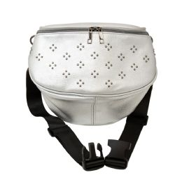 12 Units of Oversize Fanny Pack In Silver - Fanny Pack