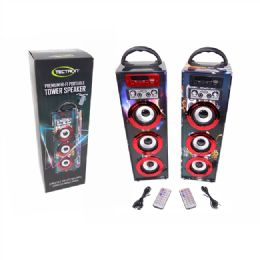 4 Units of Hi Fi Portable Tower Speaker - Speakers and Microphones